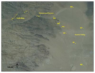 Fig. 1: Vista general de la mina Ruth.