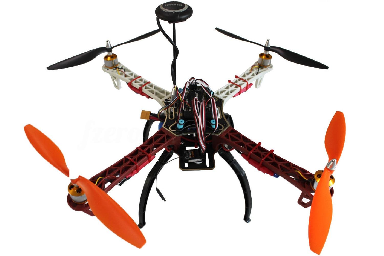 Drone tipo F450, Fuente: Ebay