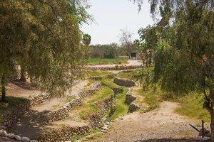 Canal de descarga del acueducto de Cantalloc