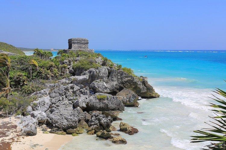 Templo Dios del Viento - Tulum, Yucatan, Mexico
