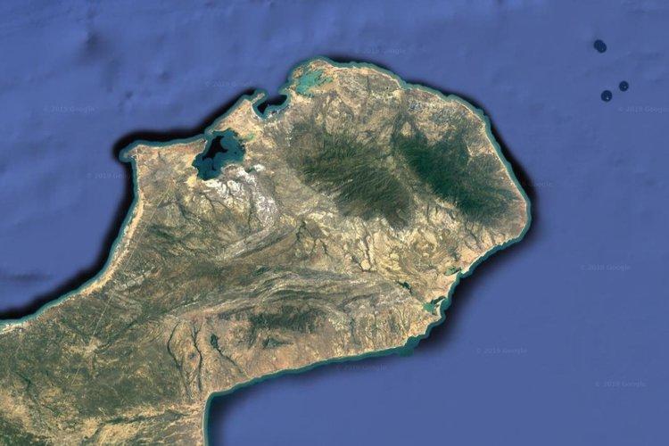 Vista aérea de La Guajira