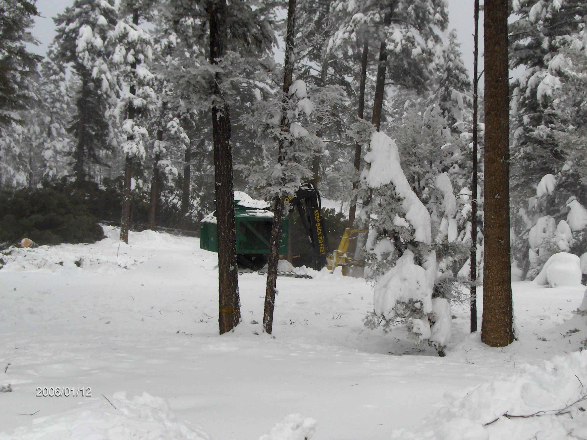 John Juntunen cutting in Southern Idaho