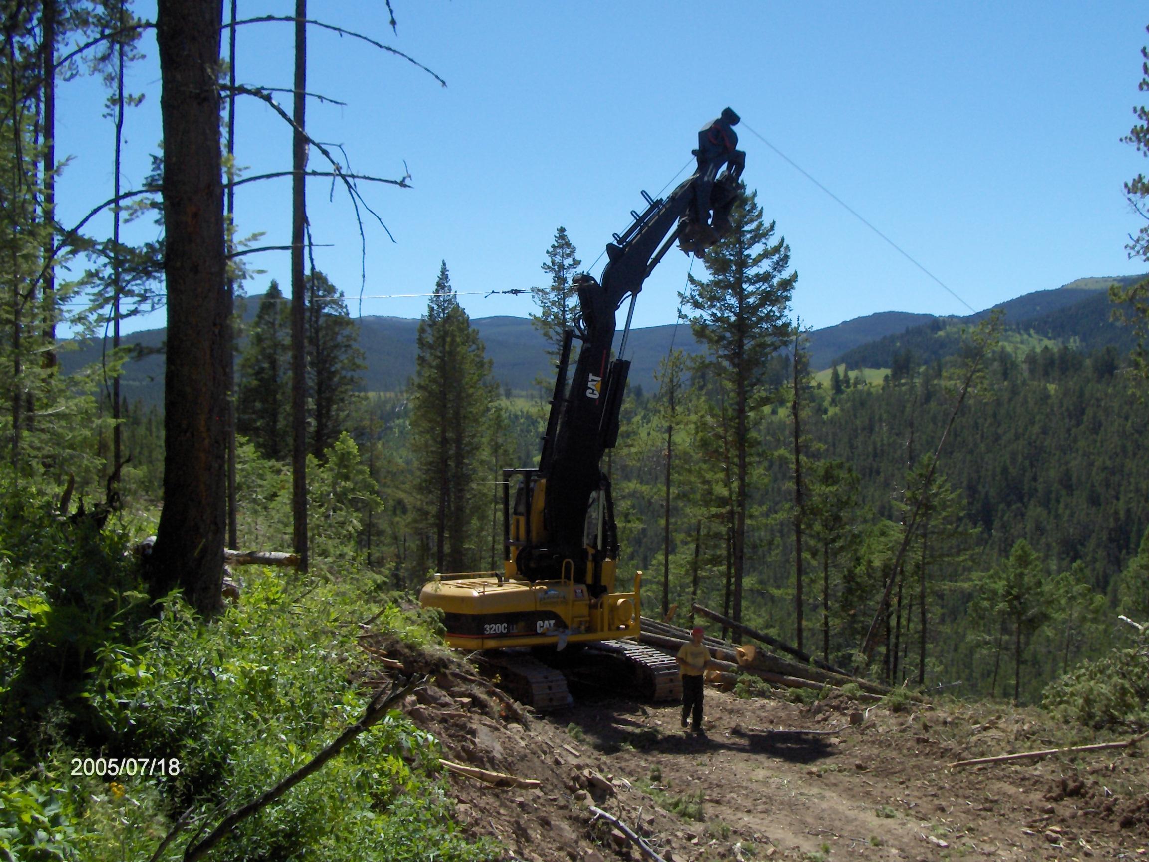 JC Ziegler Exscaline in Central Montana