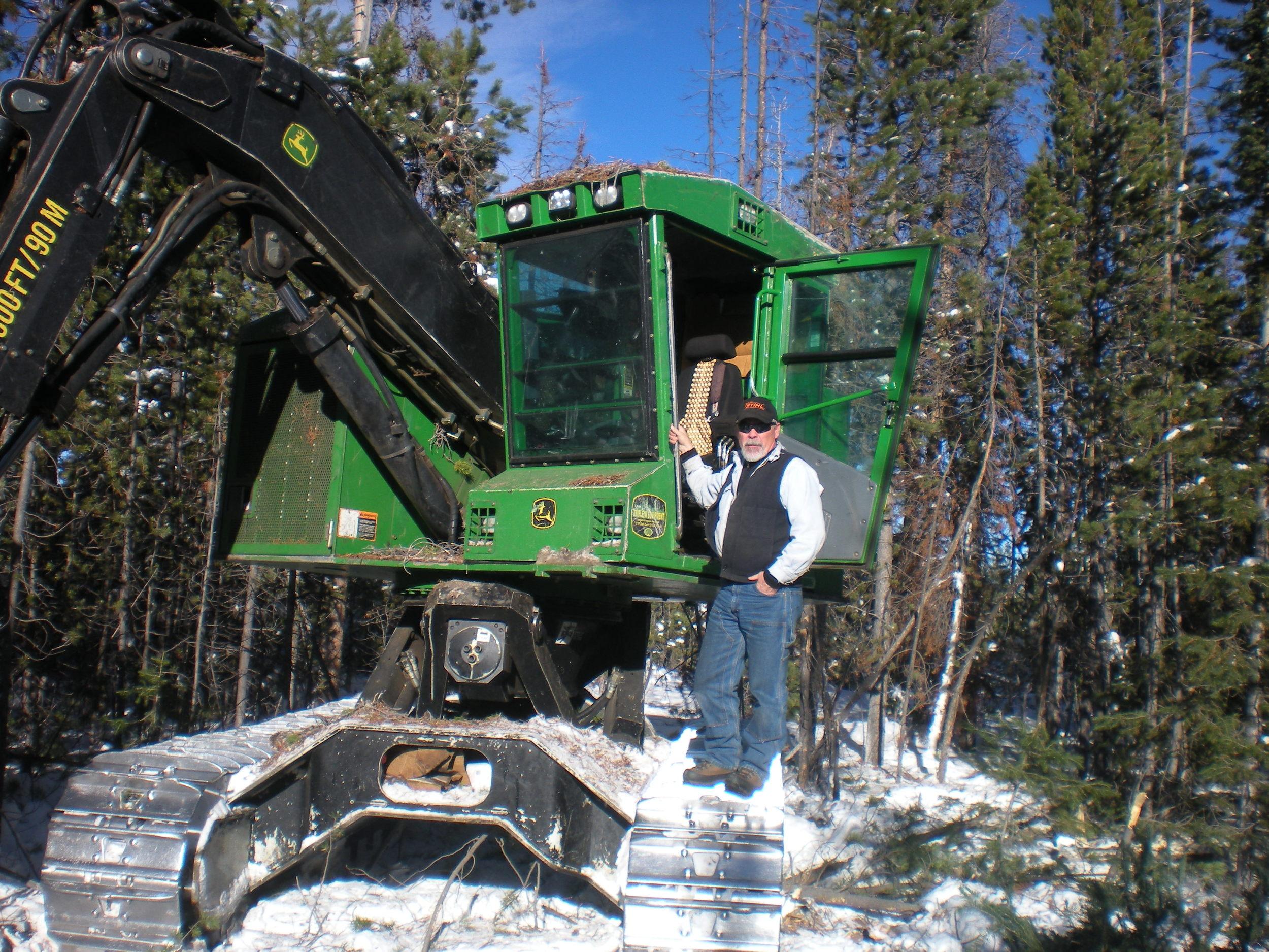 Dale Flanagan cutting in Colorado