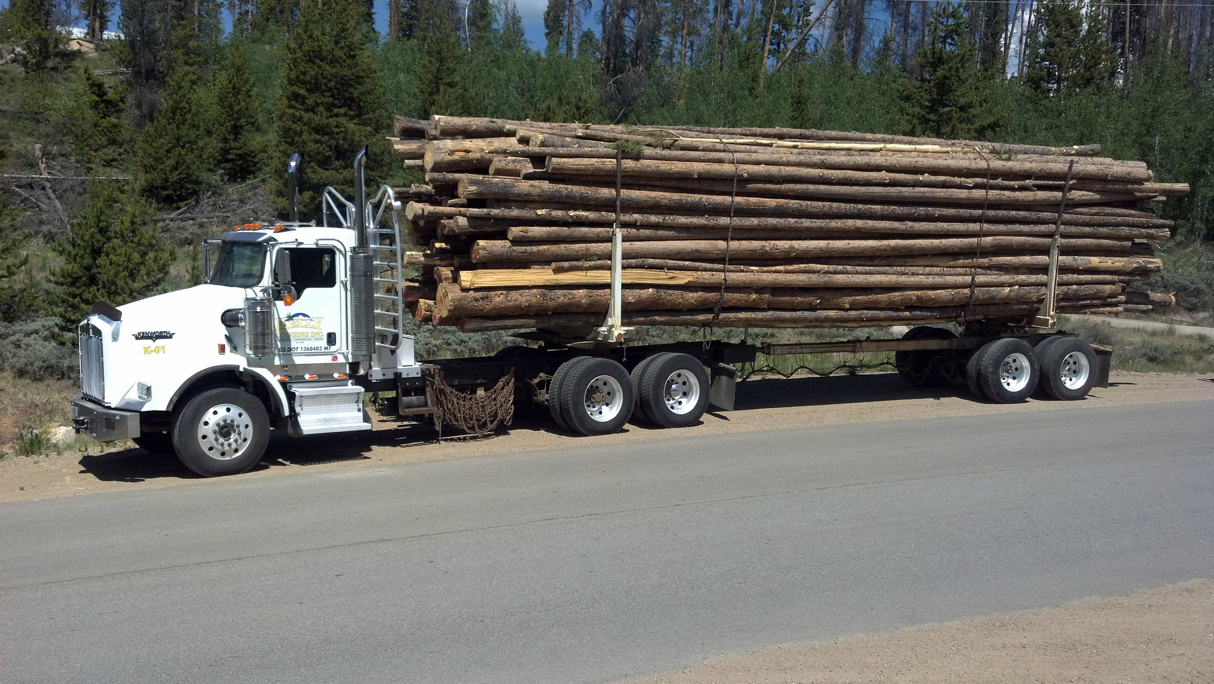 Justin Satterfield hauling in Colorado