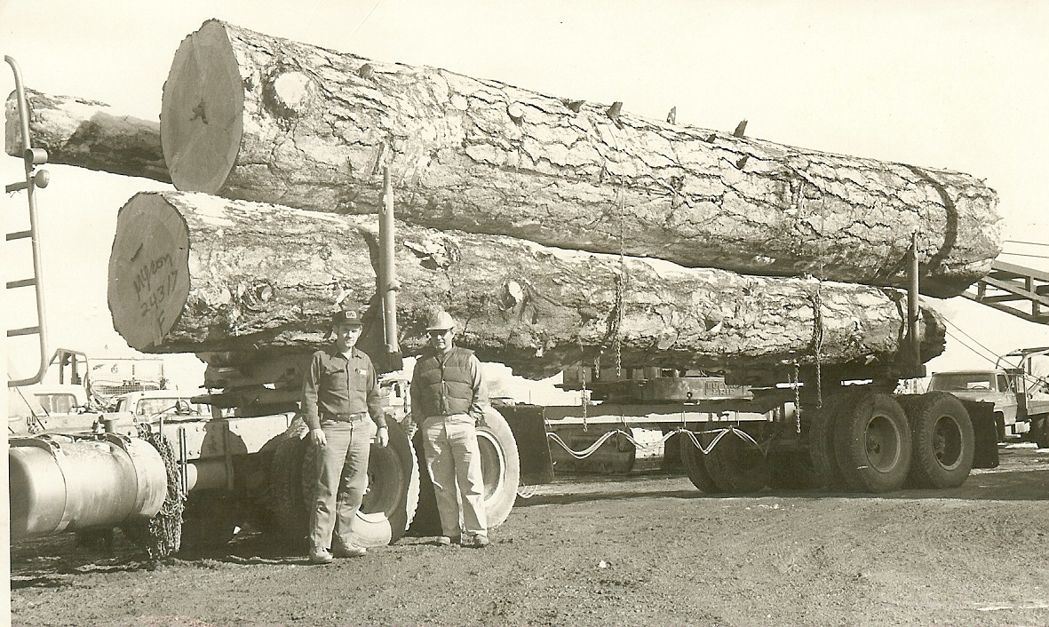 Bill G. Kelly & Myron Combs in Salmon, Idaho