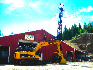 New Cat 324D Excaliner bought from Western States and built by Danielson Logging and Kevin Cothren and his businesses The Winch Co. and Clearwater Hydraulics