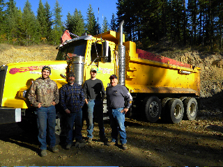Left to right: TJ Martin, Keith Linnemeyer, Ken Doupe' and Bob Danielson