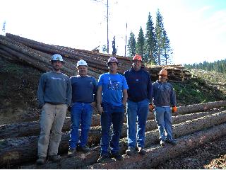 Chad Nelson, Bob Danielson, Duke Ross, Jim Auer, and Matt Danielson