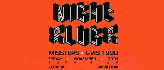 MISSTEPS X L-VIS 1990 @ ZELNICK PAVILION