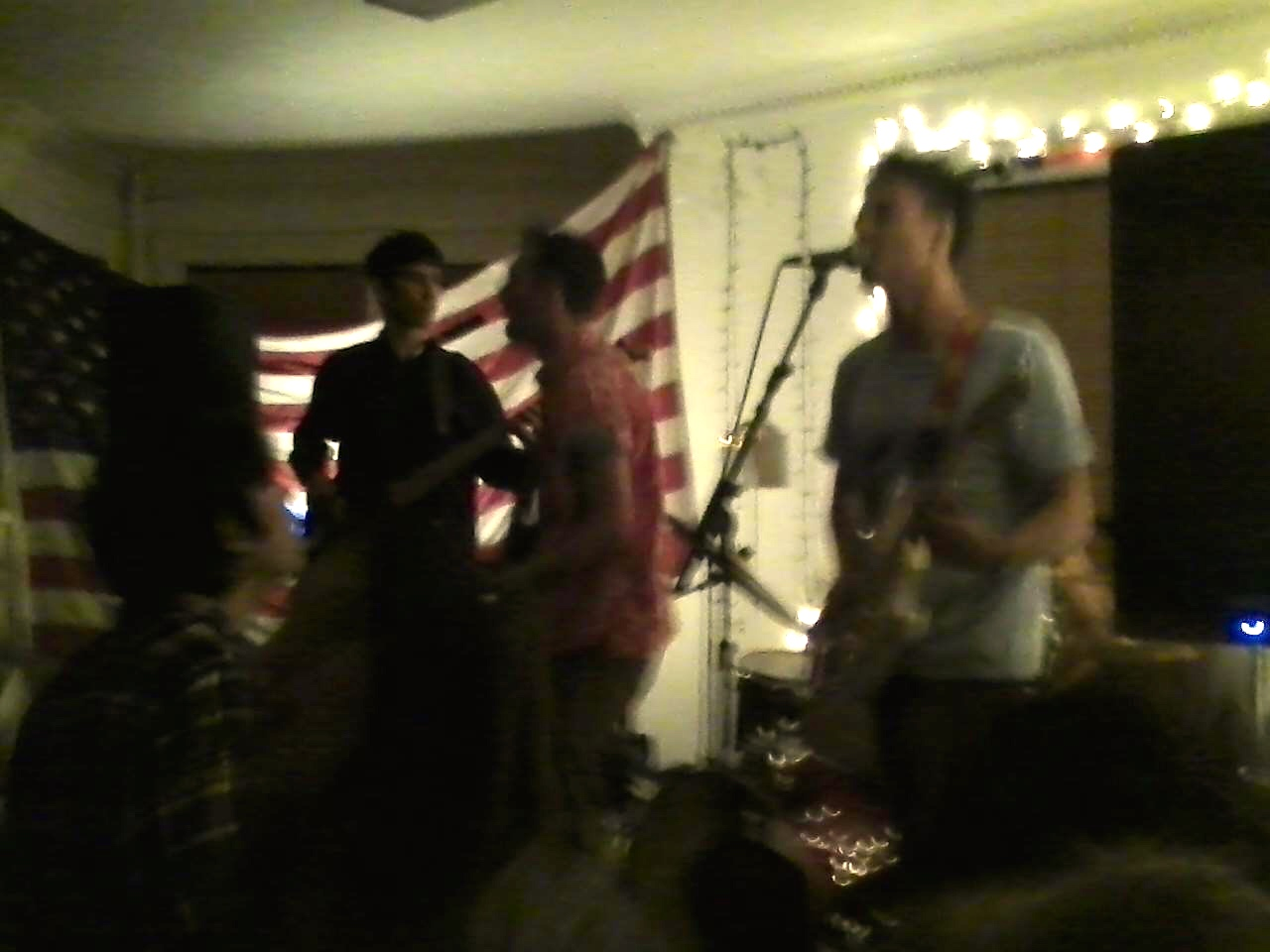 """The """"honest pop"""" boys in one of their many on-stage configurations."""