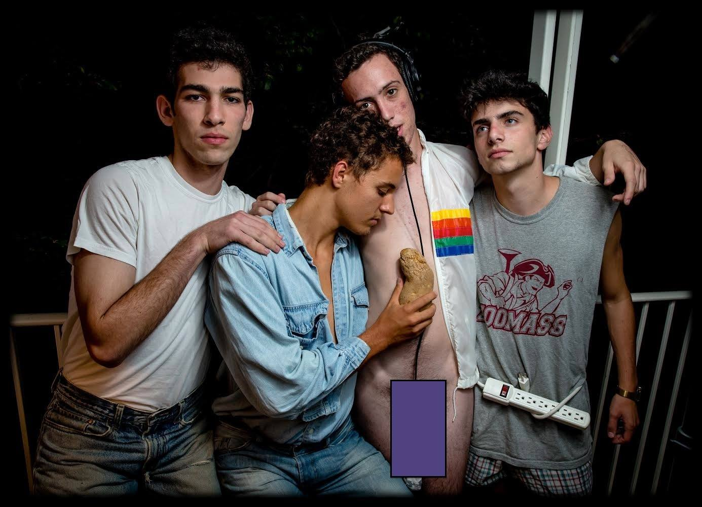 Phatrabbit, from left: Andrew, Will,  spud ,  Josh, and Eli. Photo by Jack Gorlin