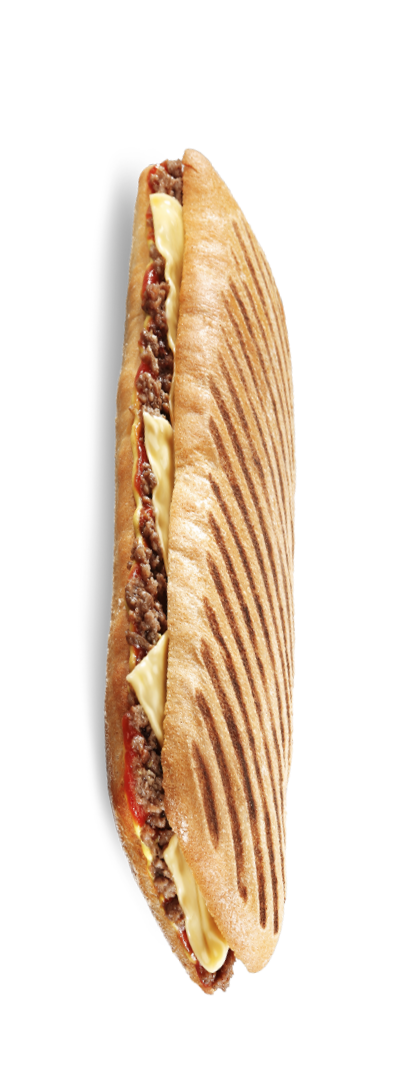 I bet you didn't know your hunny was a pressed sandwich