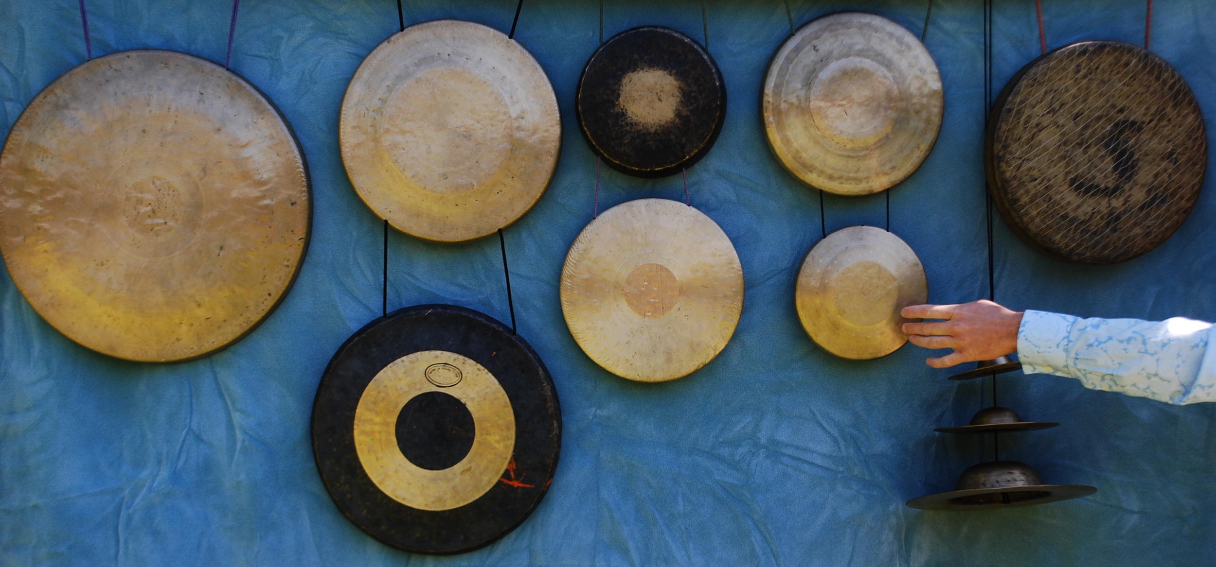 Gongs and Hand.JPG