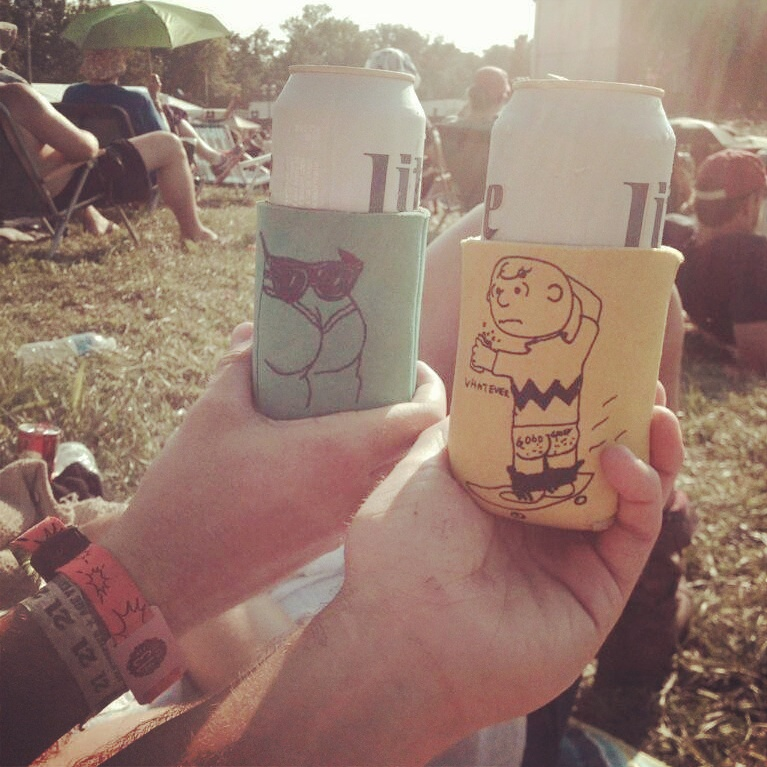 I made a couple of trips home. One for business (  the  job interview) and one for pleasure (pictured above: Bonnaroo).