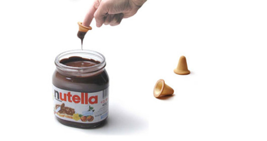 Ingenious finger biscuit that lets you enjoy Nutella in a delicious new way