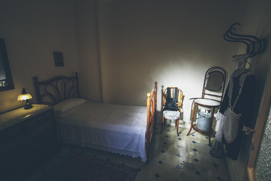 Maid's room at Casa Milà, aka. La Pedrera. Barcelona, Spain.