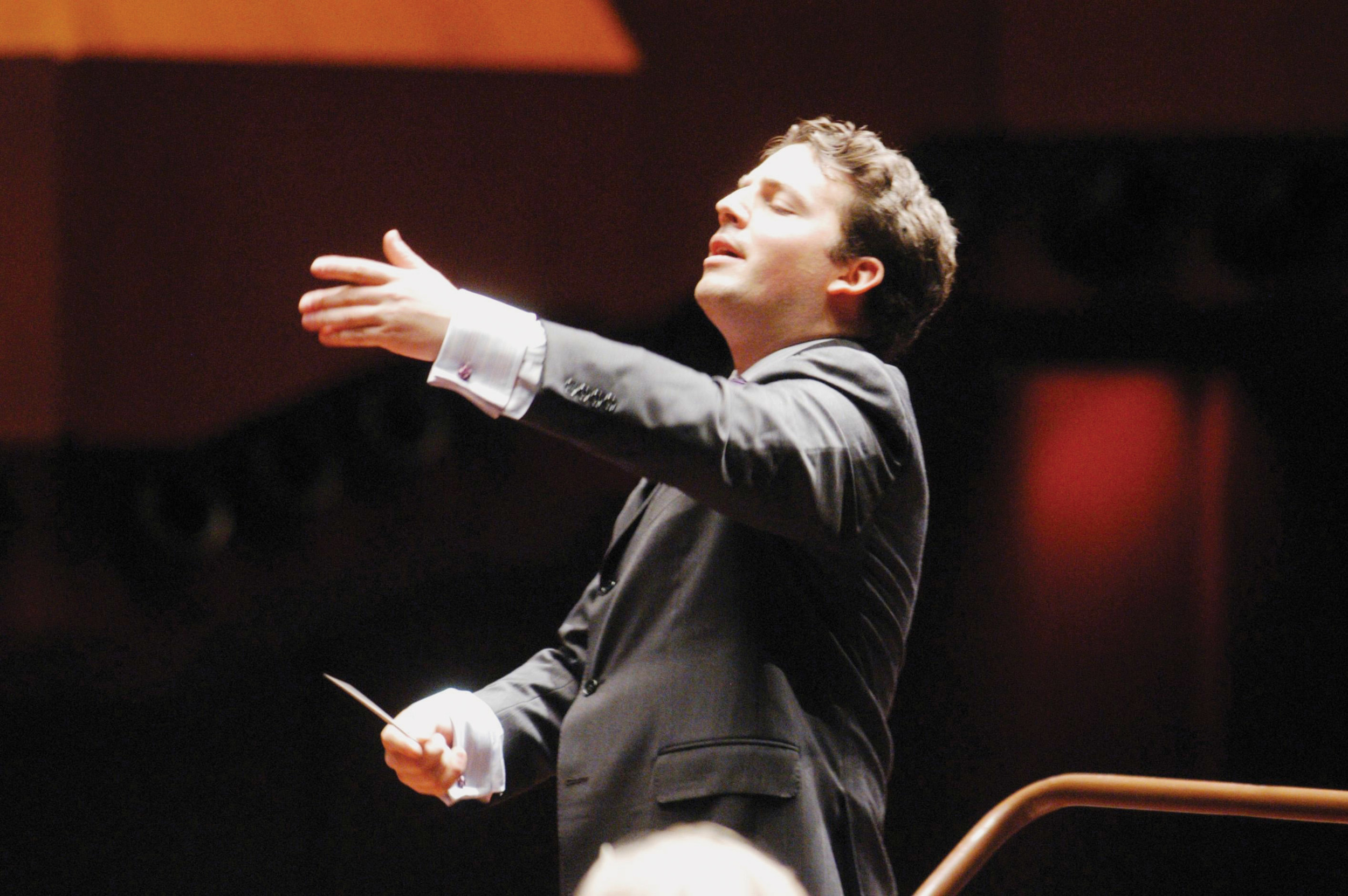 Conductor James Gaffigan