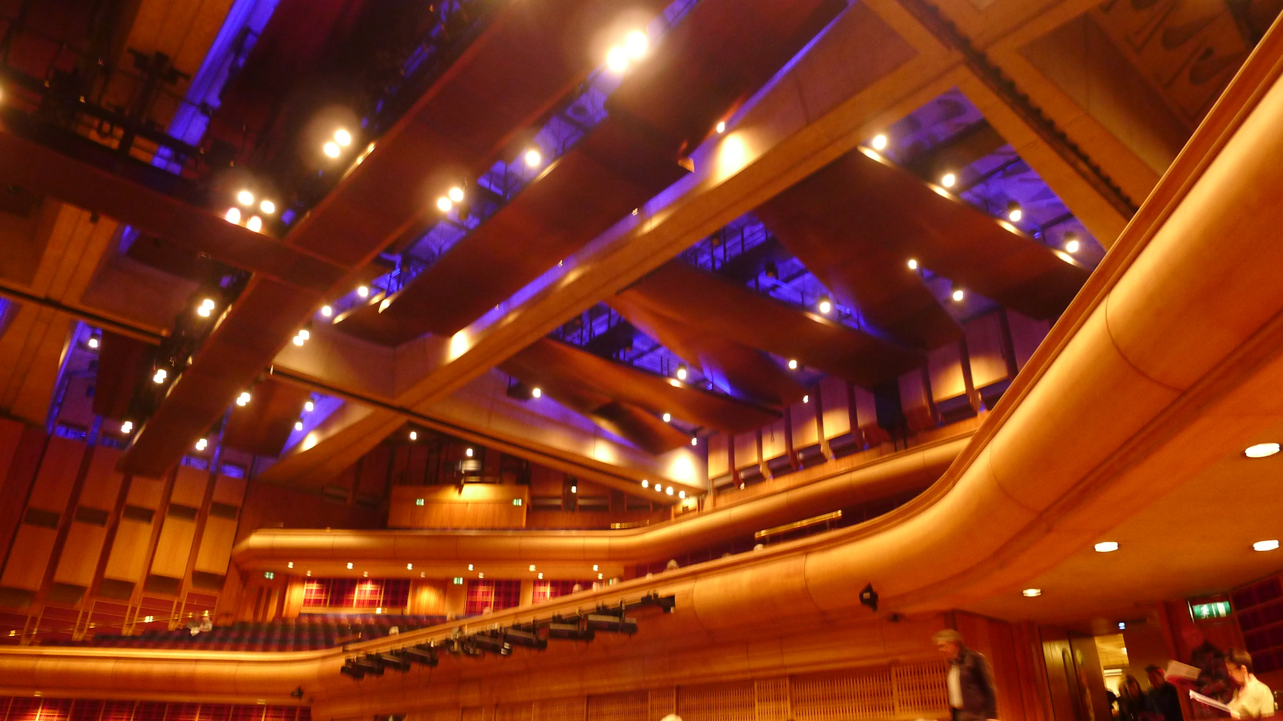 Inside Barbican Hall