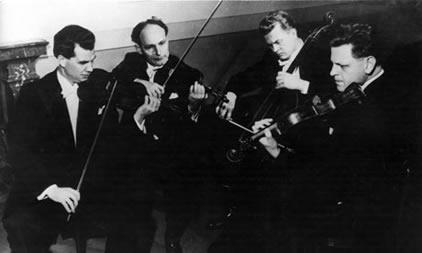 The Smetana Quartet, Photo: The Guardian