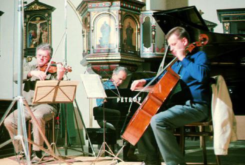 Suk Trio, Photo: Deutsche Grammophon