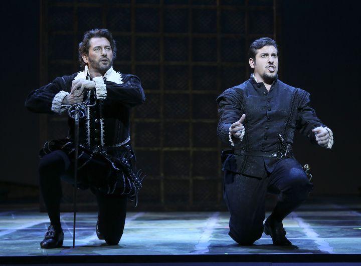 Brett Polegato as Rodrigo and Andrea Carè as Don Carlo