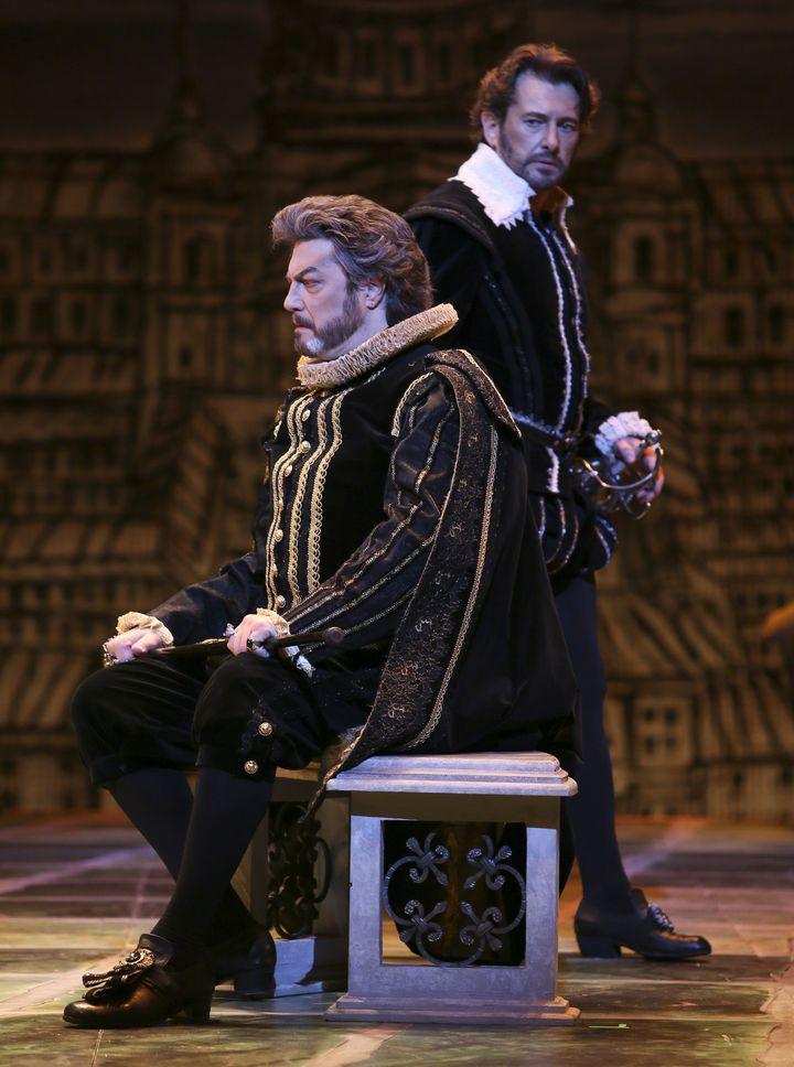 Peter Volpe as King Philip and Brett Polegato as Rodrigo