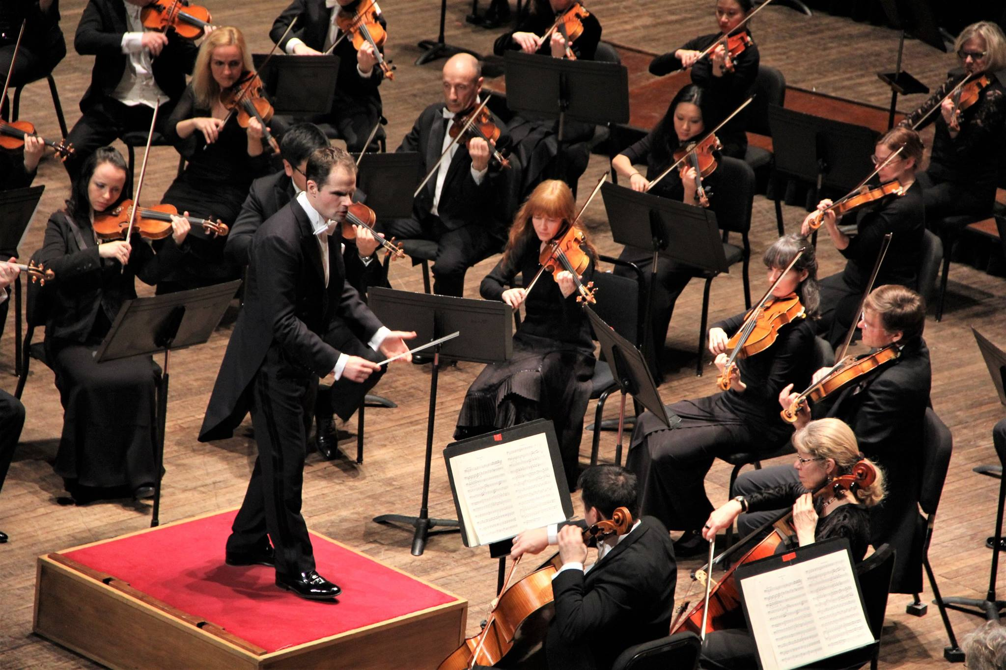 CONDUCTOR CONSTANTIN TRINKS DRAWS GREAT ARTISTRY AND