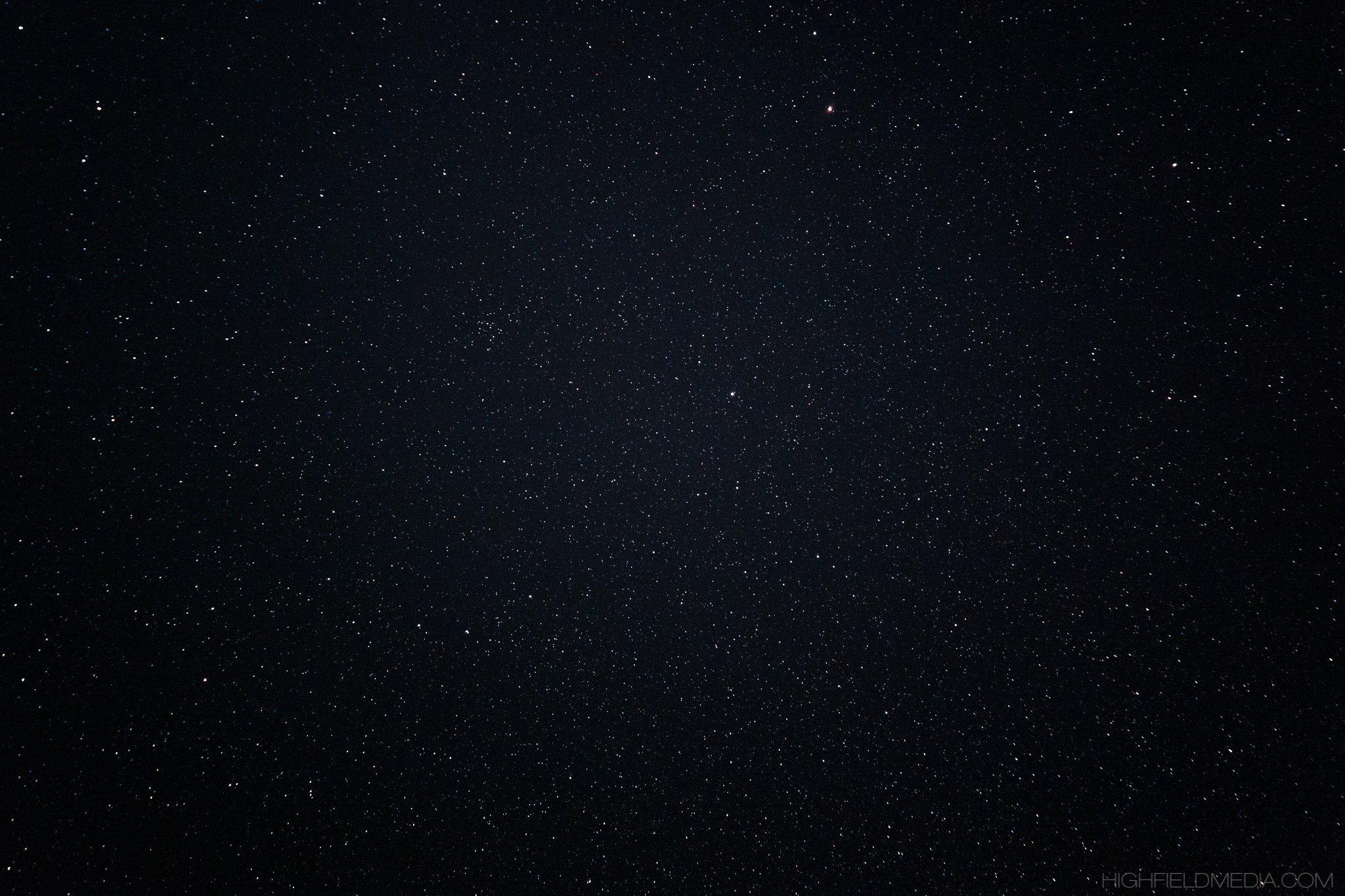 The sky overhead in Big Bend National park, with stars far too numerous to count.