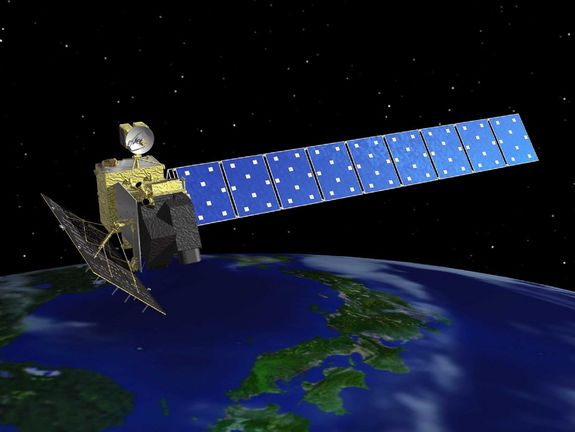 Advanced Land Observation Satellite. (C) Japan Aerospace Exploration Agency ( JAXA )