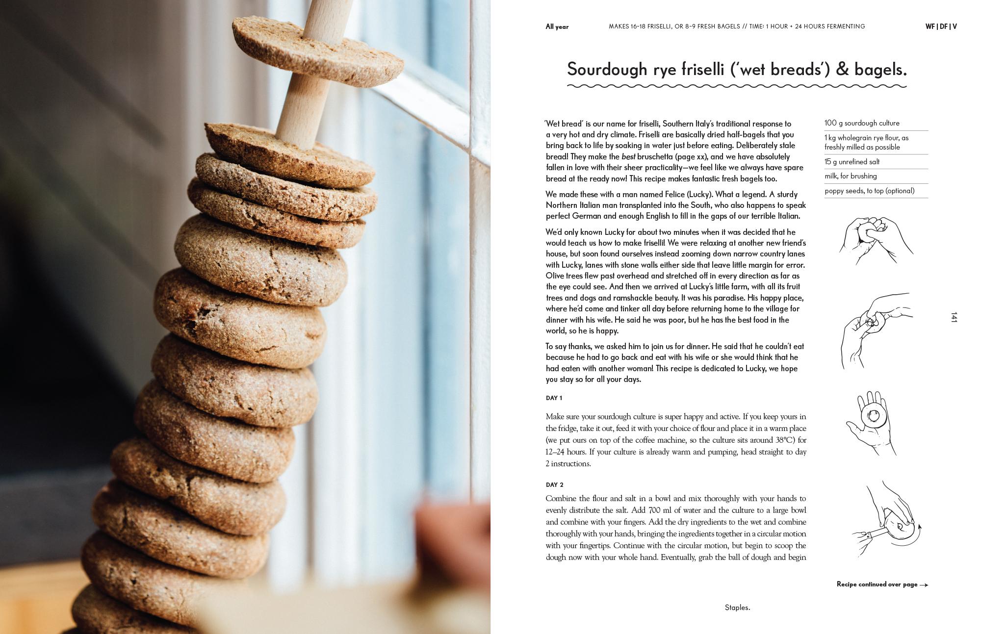sourdough rye friselli extract
