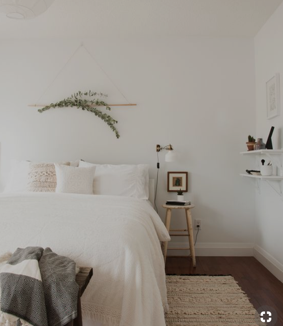 - Minimalist StyleThis example shows very white and clean and fewer items in a room. Art item are usually small framed simple compositions with white mattes. Subject should be very simple and clean.