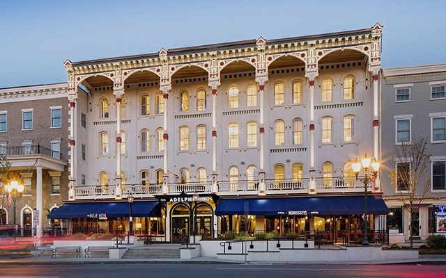 Join #AutoToga at @theadelphihotel this Sunday from 11 a.m. to 1:30 p.m. for a spectacular new event we're calling, Bubbles & Brunch on Broadway!  Celebrity Chef @ggwilson will be joining us and has been working to prepare a wonderful brunch.  Thank you to our sponsors, @maseratialbany, @porschecliftonpark, and @bythebottleshop!  Proceeds help support our educational and exhibit programs.  Visit our website (link in bio)to get your tickets!  #DiscoverSaratoga #TheAdelphiHotel #Brunch #ThingsToDo #NYSMuseums #SundayFunDay #saratogasprings #upstateny #upstatenewyork