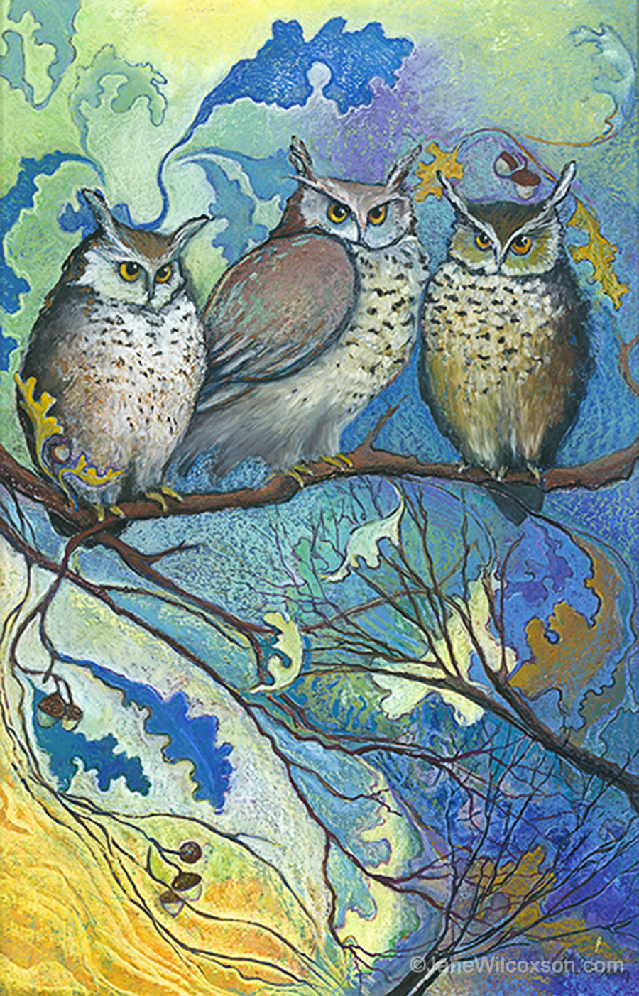 Hoot and the Family Tree - SOLD