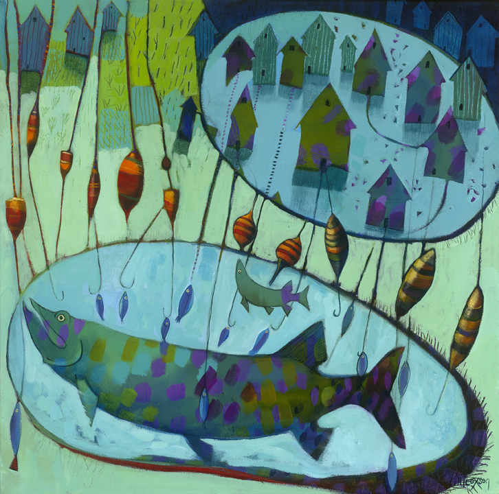 Fishing Derby Day - SOLD