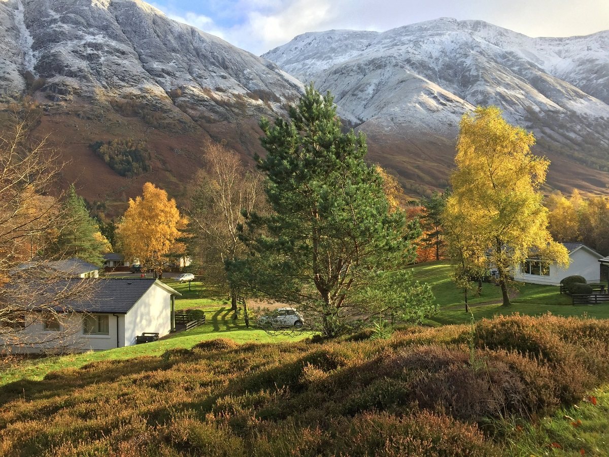 Self Catering Holiday Cottages set in the scenic Ben Nevis landscape
