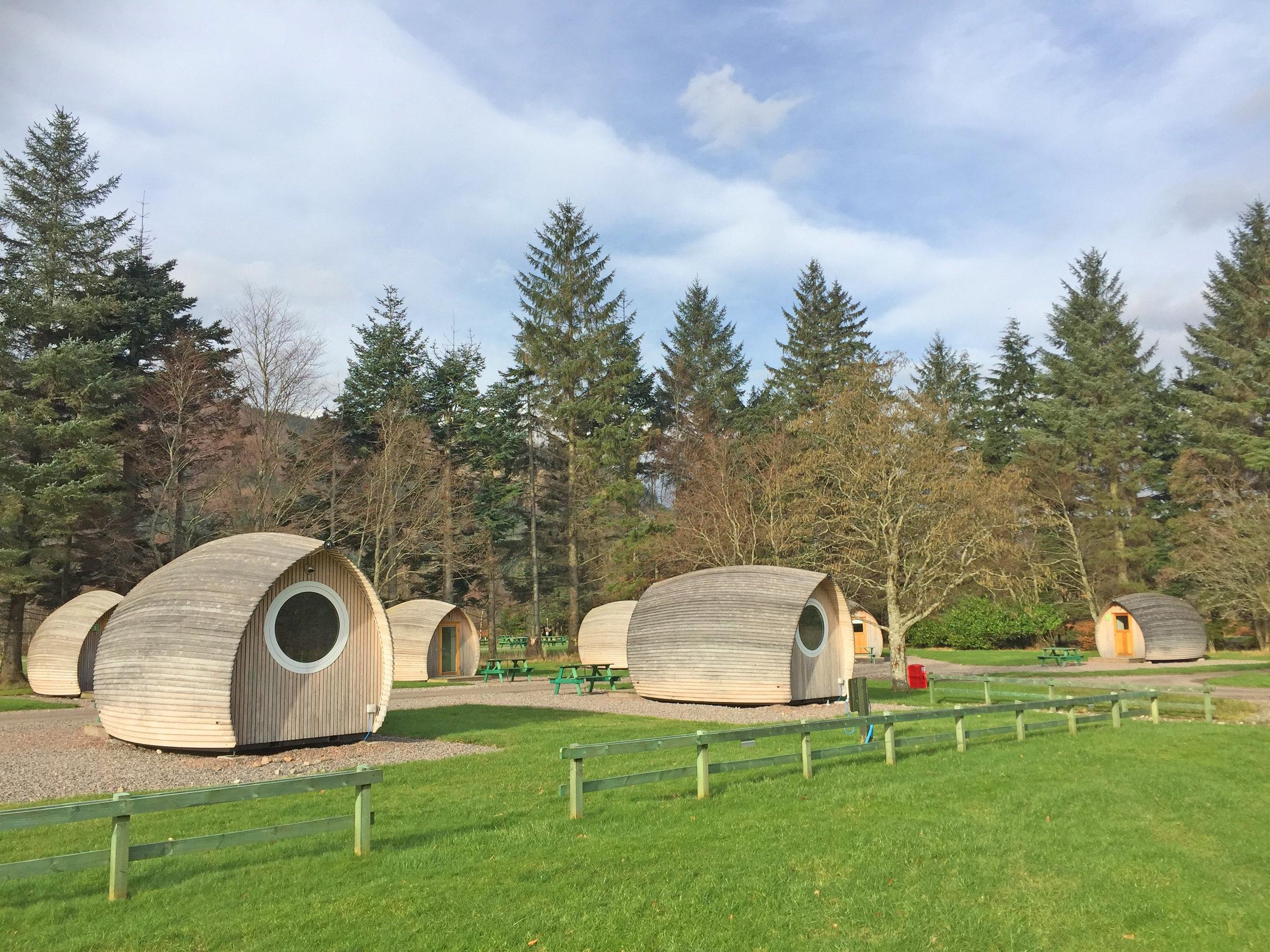 Camping Pods - External