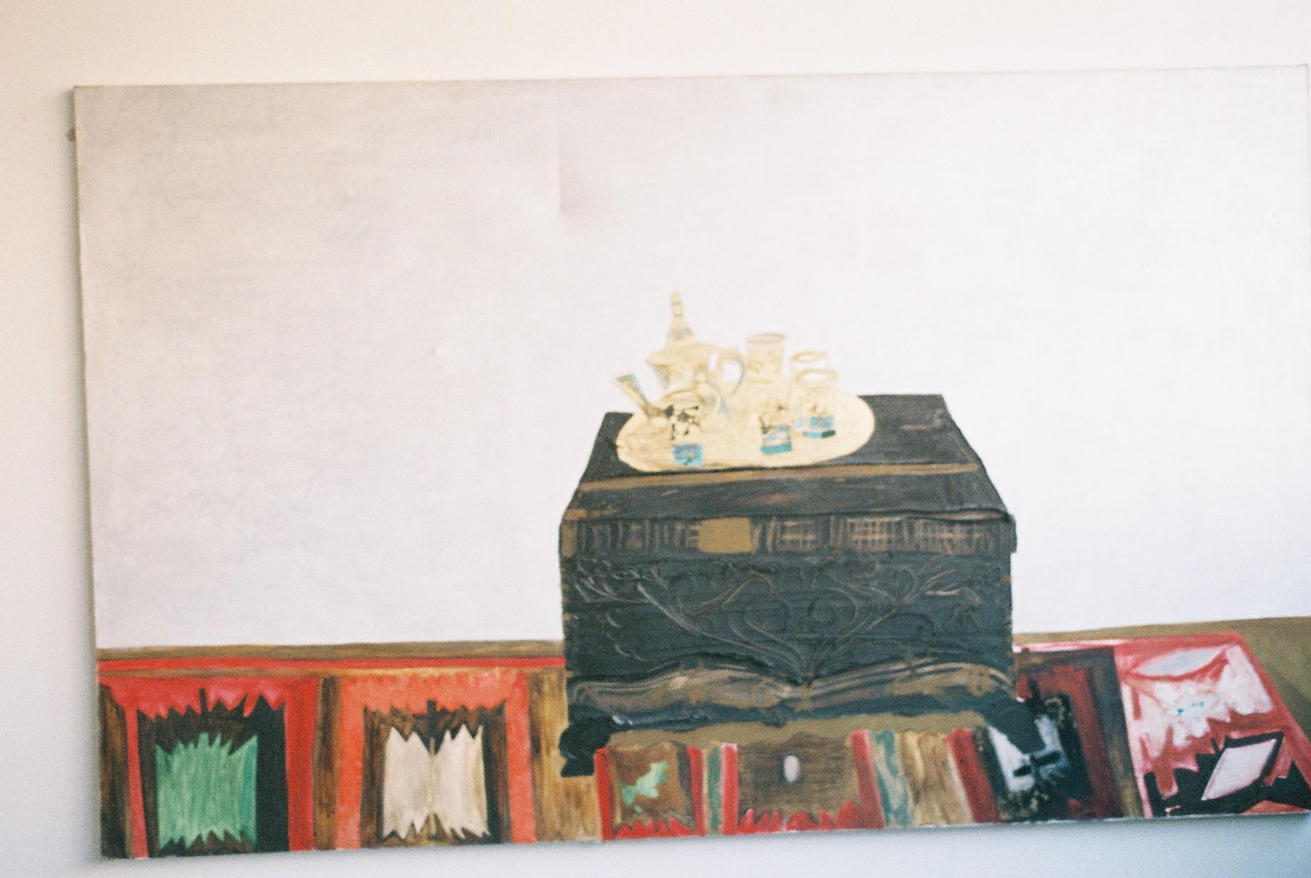 Turkish Delight   Oil on Canvas    198 x128 cms