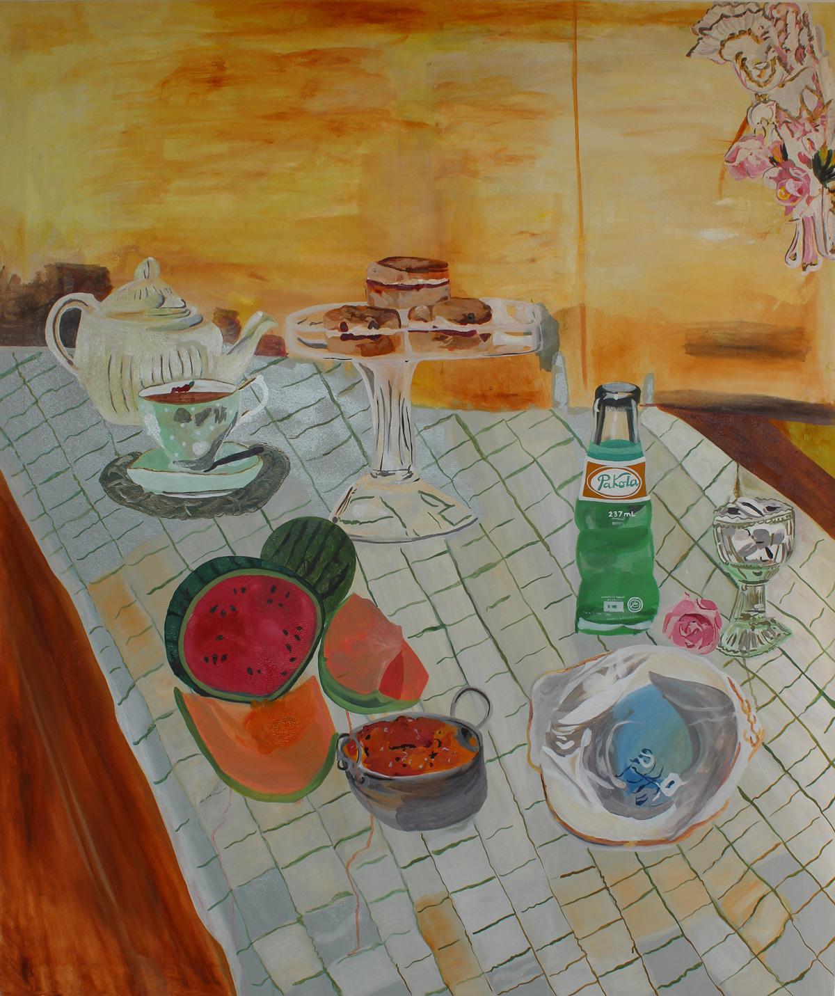 Pakola  130 x 110 cms // Oil on canvas