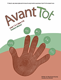 12 step by step lesson plans and homework assignments to accompany Avant Tot the student book.