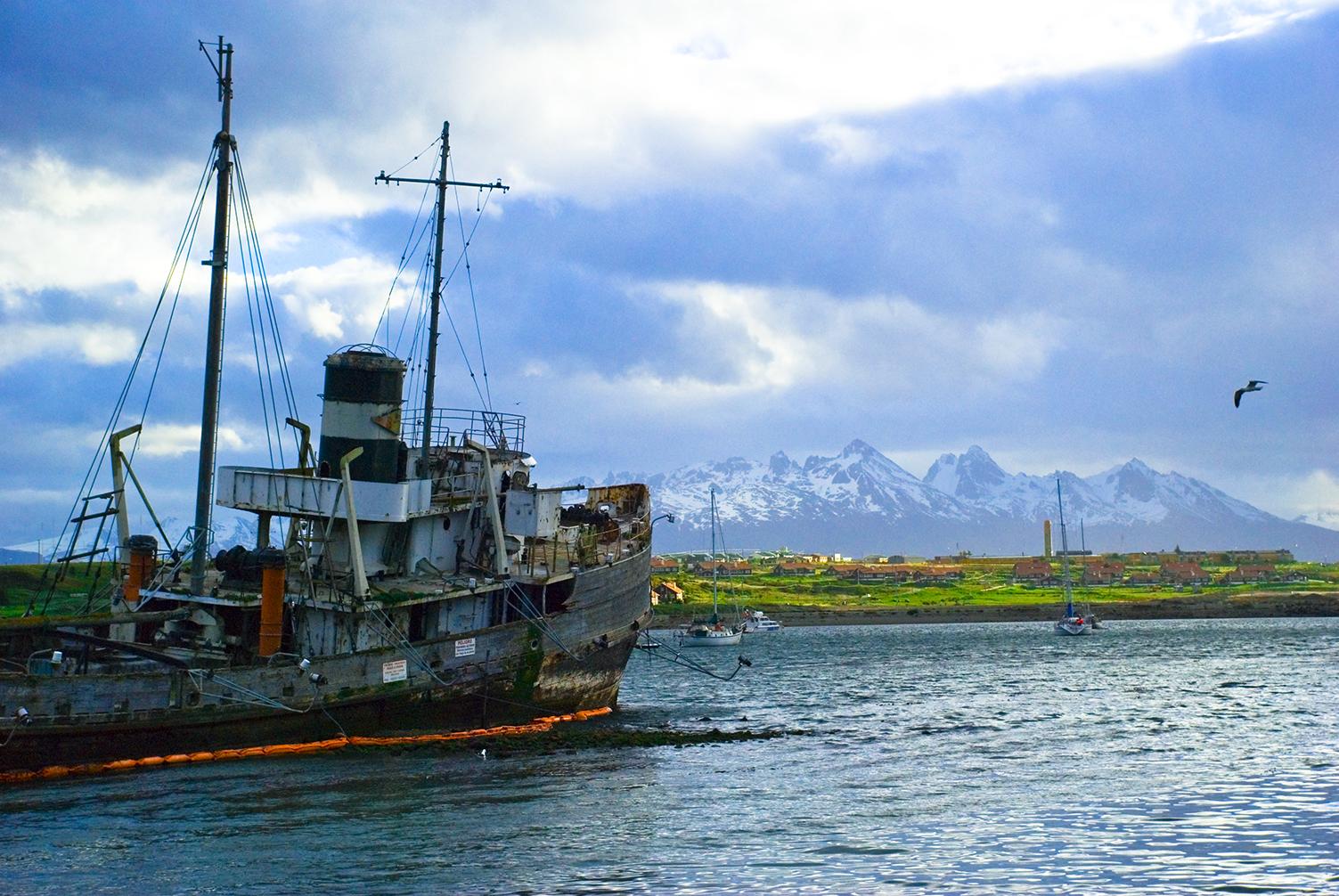 Strait of Magellan, Tierra del Fuego, Argentina