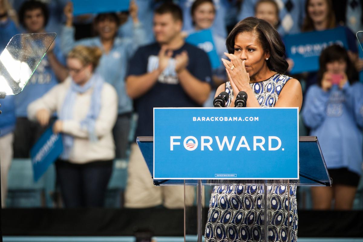 Michelle at UNC
