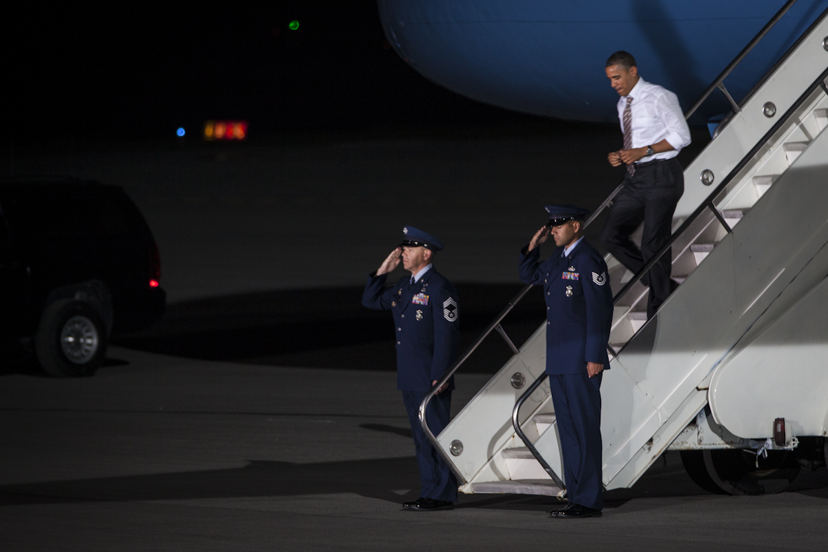 Obama & Air Force One
