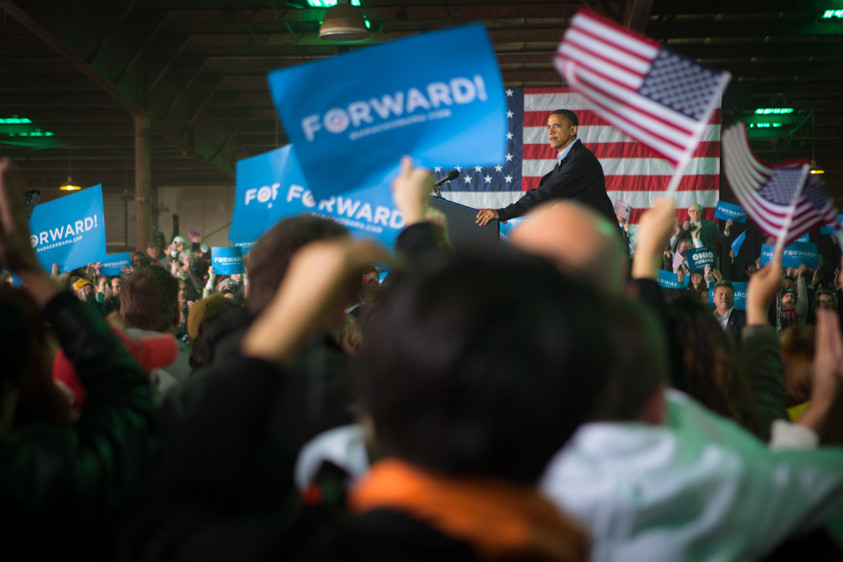 Obama in Hilliard, Ohio