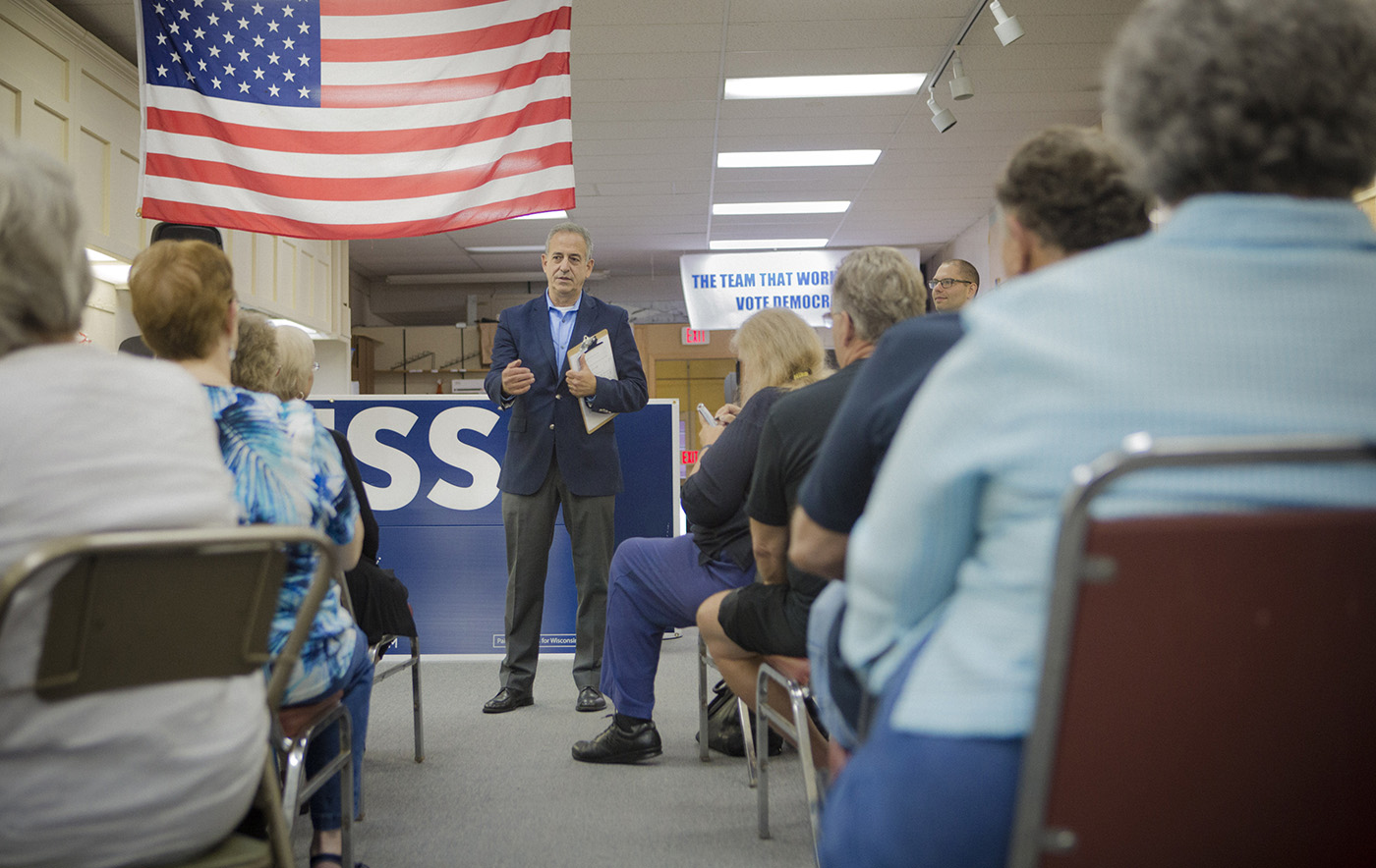 Russ Feingold - GOTV Event for Early Voting