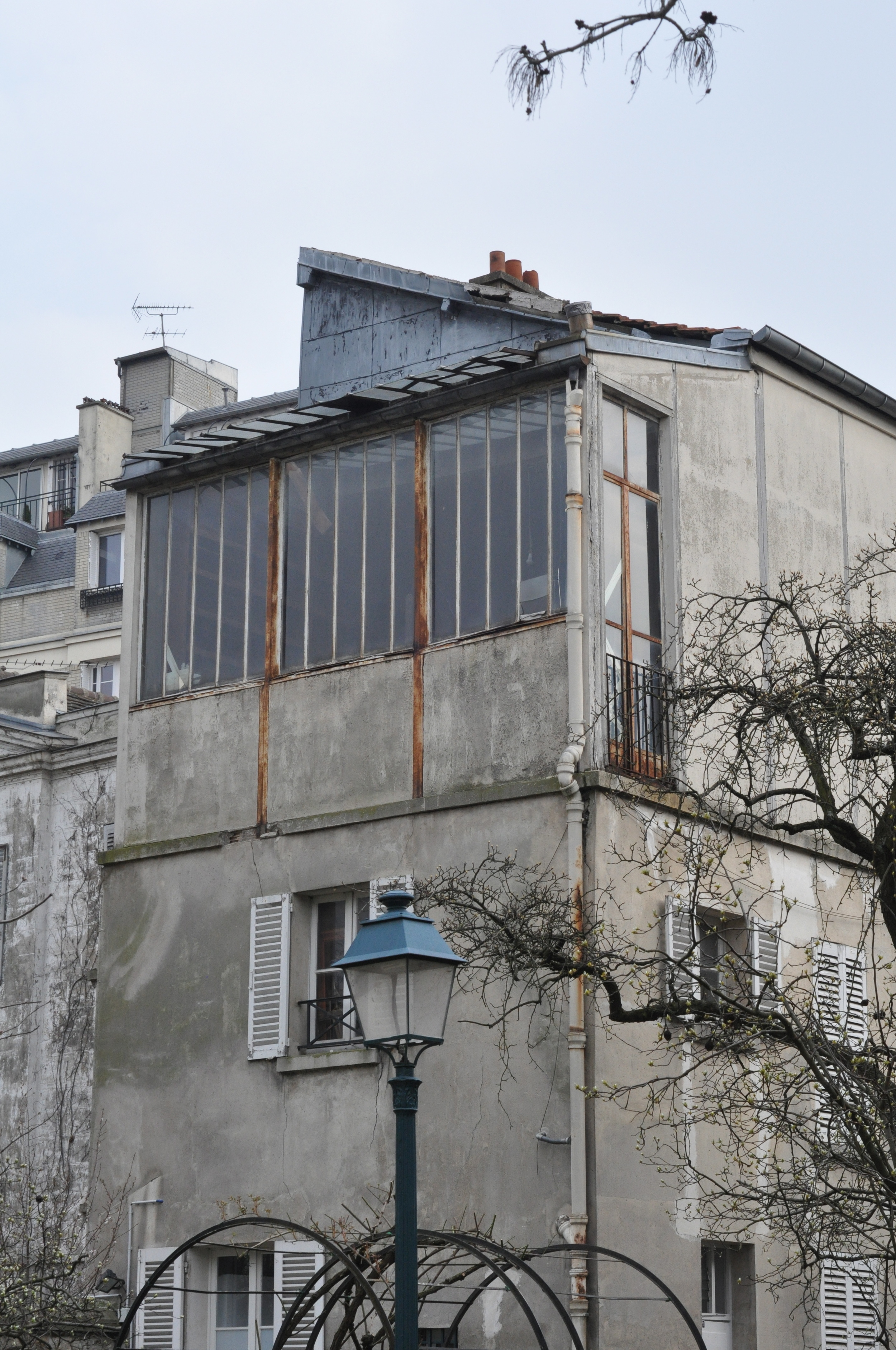artist studios at montmartre musee