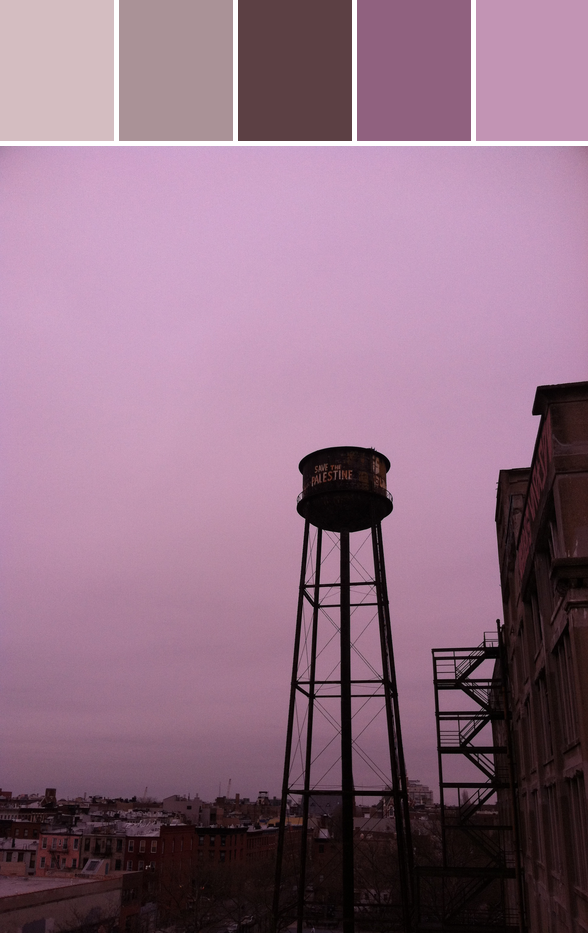 water tower. greenpoint, brooklyn, ny.