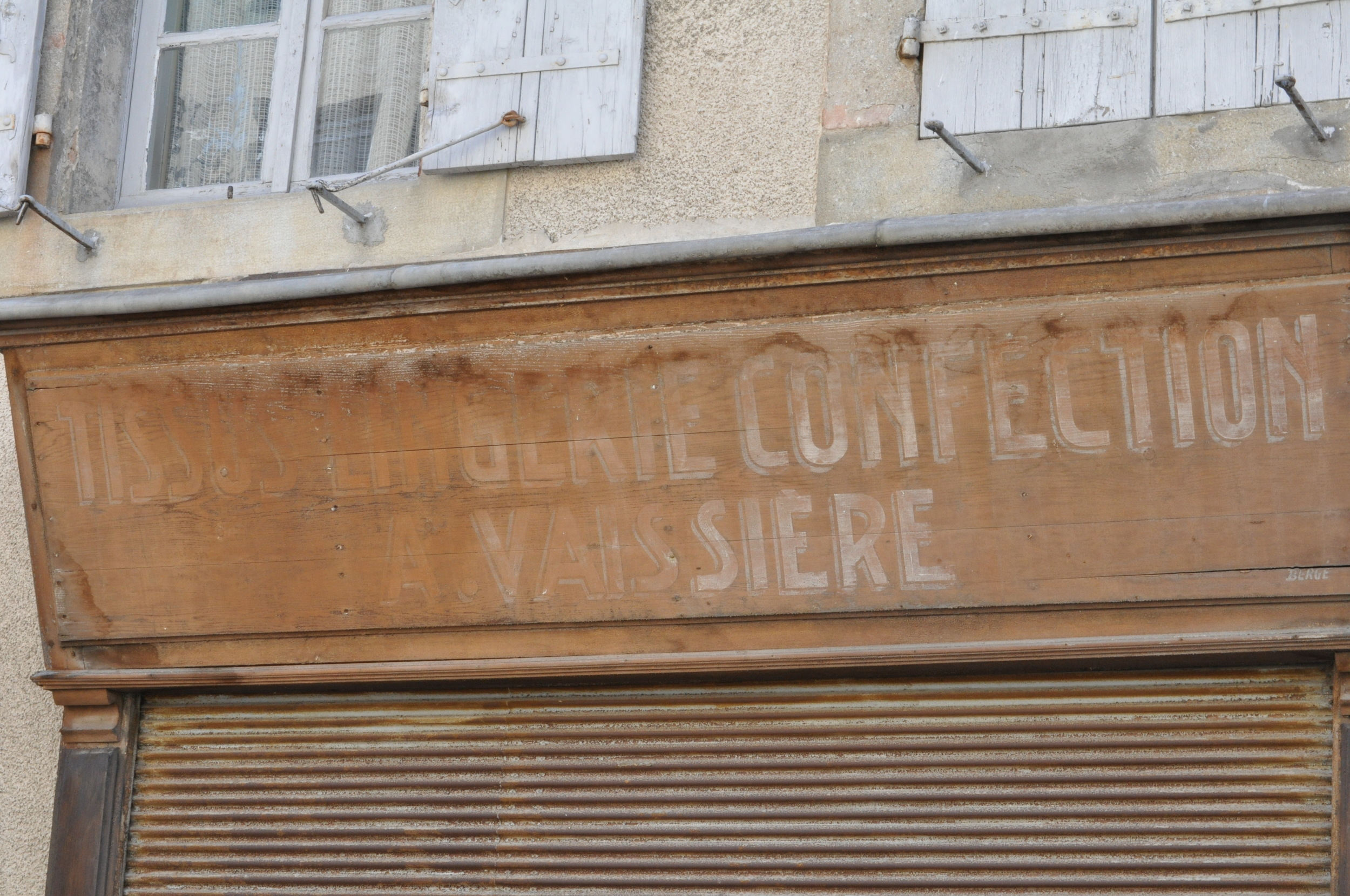 old confectionary shop. avignon, france.