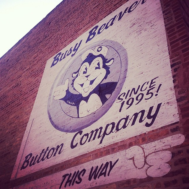 busy beaver button co. chicago, il. from my instagram (@laigrai).