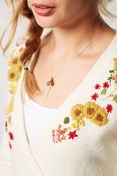hand embroidery for anthropologie